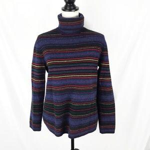 Lauren Ralph Lauren Lambswool Turtleneck Sweater L